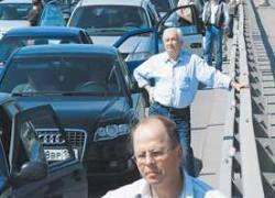 Из-за кризиса транспортный коллапс в Москве переносится
