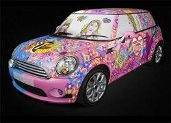 Британский художник расписал автомобиль Mini One