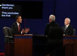 Обама и Маккейн: последние теледебаты