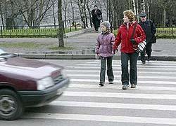 Штраф за отказ уступить дорогу пешеходу может вырасти в 10 раз