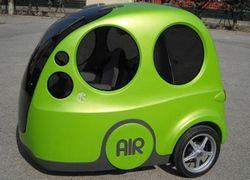 Автомобиль с пневматическим двигателем