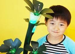 В Корее создан цветок-робот