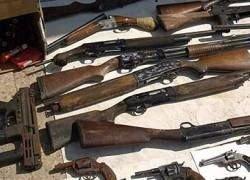В Белфасте нашли крупный склад оружия