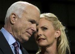 Жена Маккейна заработала четыре миллиона долларов за год