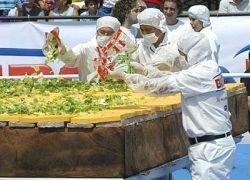 Голодные иранцы сорвали новый бутербродный рекорд