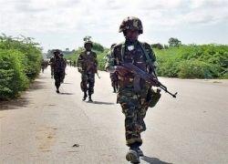 Пиратское судно уничтожено камерунскими военными