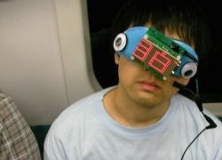 Noriko-san – маска для сна в транспорте