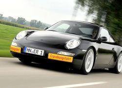 Porsche можно зарядить от розетки