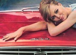Рекламные фото автомобилей 50-70-х годов