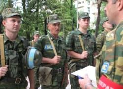 Российские миротворцы покинули зону грузино-абхазского конфликта