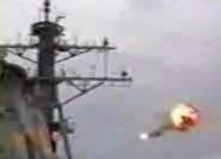 Истребитель F-14 взорвался после прохождения звукового барьера