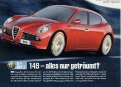 Появились фотографии новой Alfa Romeo