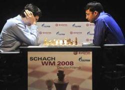 Крамник во второй раз проиграл Ананду белыми