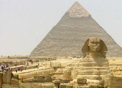 При строительстве пирамиды Хеопса был допущен брак