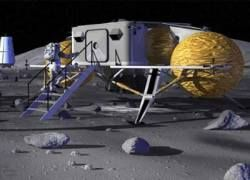 На Луне откроется производство цемента?