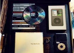 Apple выпускает роскошную версию iPod для фанатов Beatles