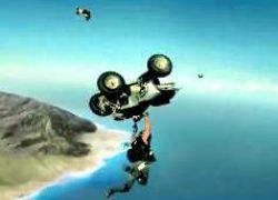 Прыжок чокнутых байкеров из самолета