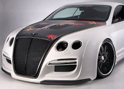 Японский тюнер раскрасил Bentley