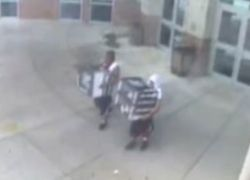 Американские старшеклассники разграбили родную школу