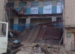 Школа в Беляевке обрушилась из-за дефектов несущих конструкций