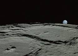 Японский аппарат Кагуя не нашел льда на южном полюсе Луны