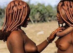 В чем особенность женщин племени Himba?