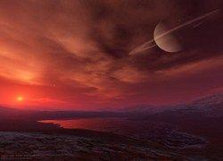 На спутнике Сатурна Титане обнаружена электрическая активность