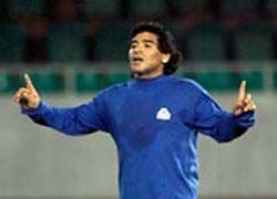 Марадона едва не сорвал товарищеский матч в Тбилиси