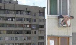 Самая опасная работа в мире: монтер кондиционеров в России