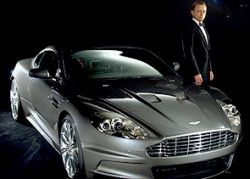 Агенту 007 подарили прокат Aston Martin