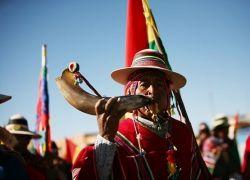 200-километровый марш Эво Моралеса на Ла-Пас