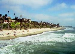 На калифорнийском пляже откроют каток
