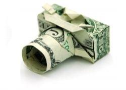 Won Park - оригами из купюры в один доллар