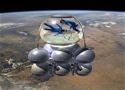 """Американская компания создает \""""космический аквариум\"""""""