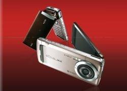 Компания Casio представила 8,1-мегапиксельный камерофон