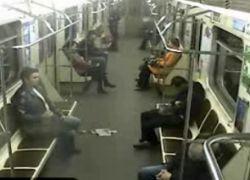Милиционер ограбил спящего пассажира в московском метро