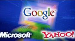 Google, Yahoo и Microsoft  борются за права пользователей