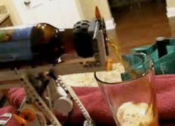 Как налить пиво с помощью iPhone 3G?