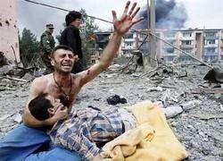 Спящий Цхинвал никто никогда не бомбил?
