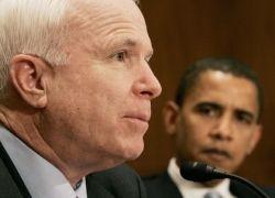 За кого же нам болеть - за Обаму или за Маккейна?