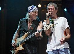 В Москве выступила легендарная британская группа Deep Purple