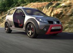 Renault показала концепт Sandup с трансформируемым кузовом