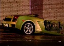 Lamborghini разорвало на части