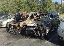 Поджигатели машин переключились на Подмосковье