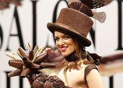 Шоколадное шоу в Париже