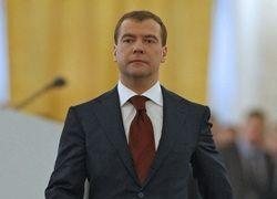 Кризис съел 10% речи Дмитрия Медведева