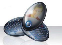Концепт телефона Motorola Twirl