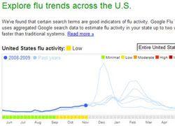 Google отследит эпидемию гриппа в США
