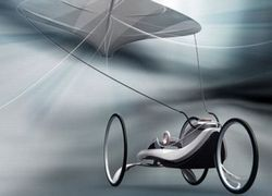 Kite Car: автомобиль-воздушный змей