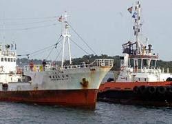 У берегов Кении захвачено китайское рыболовецкое судно
